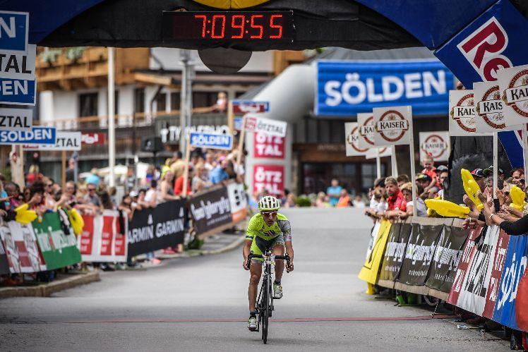Markus Hertlein zum Training beim Ötztaler Radmarathon