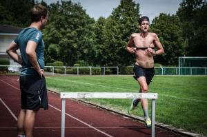 Boris Stein beim Triathlon-Training