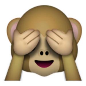 Emoji Affe
