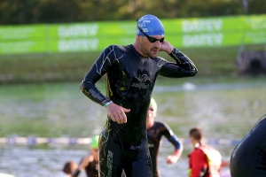 Das Schwimmen der Challenge Roth mit Patrick Lange