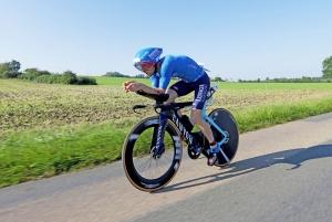 Radfahren bei der DATEV Challenge Roth mit Patrick Lange
